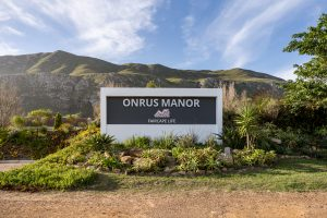 Onrus Manor; Entrance Sign