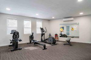 Bridgewater Manor Exercise Room