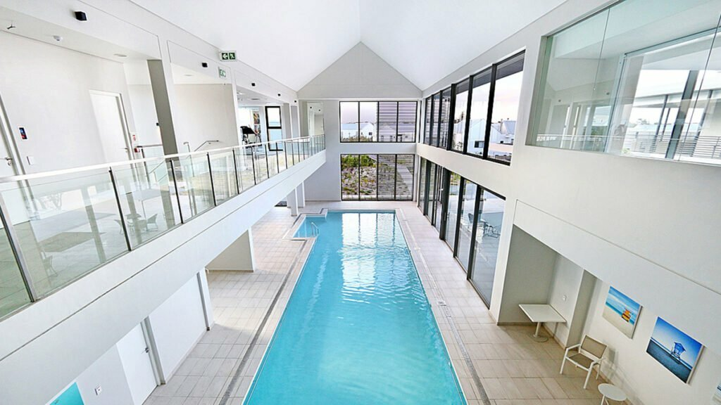 Among the many amenities on offer at Tokai Estate, the heated in-door swimming pool is a definite winner