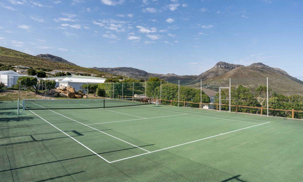 Noordhoek Manor; Tennis Court