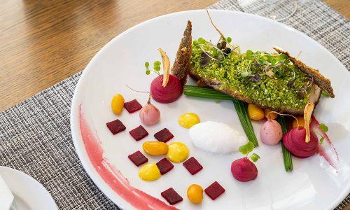 Bridgewater Manor; Fine Dining Cuisine